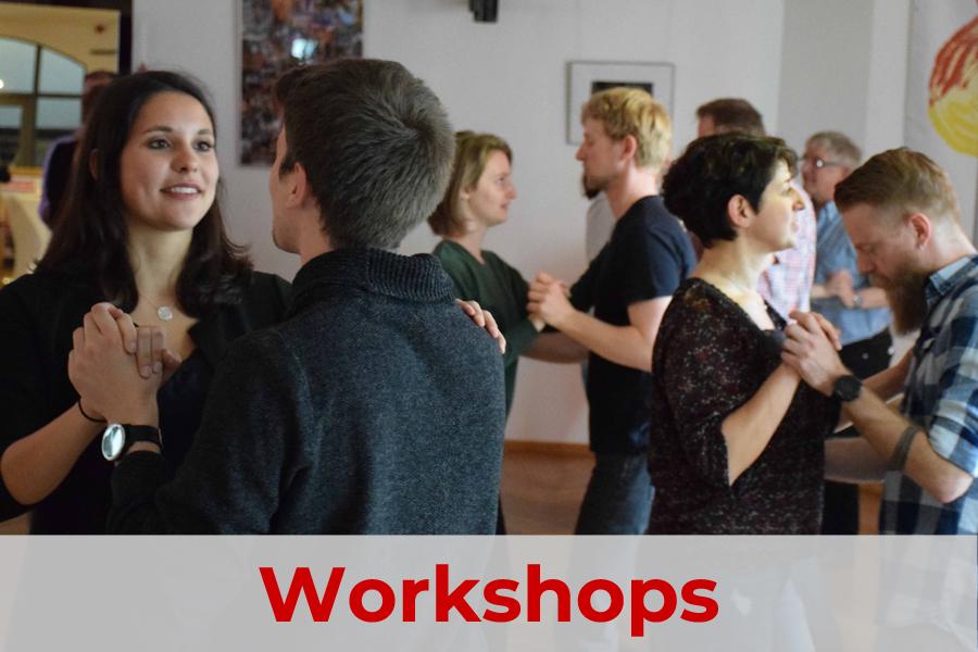 Tanzworkshops mit internen und externe Trainern